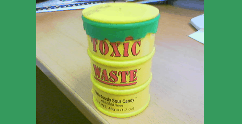 Toxic Waste Candy Review